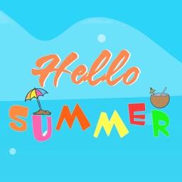 Hello Summer Sticker packs