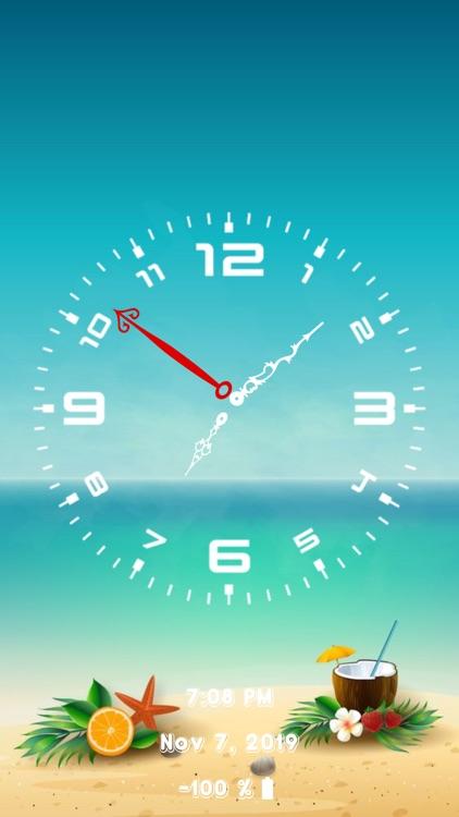 Analog Clock - Face Clock Time screenshot-6