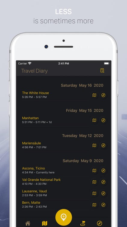 Travel Diary: Trip Tracker screenshot-3