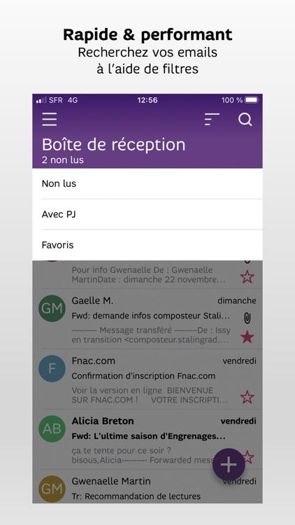 SFR Mail screenshot-3