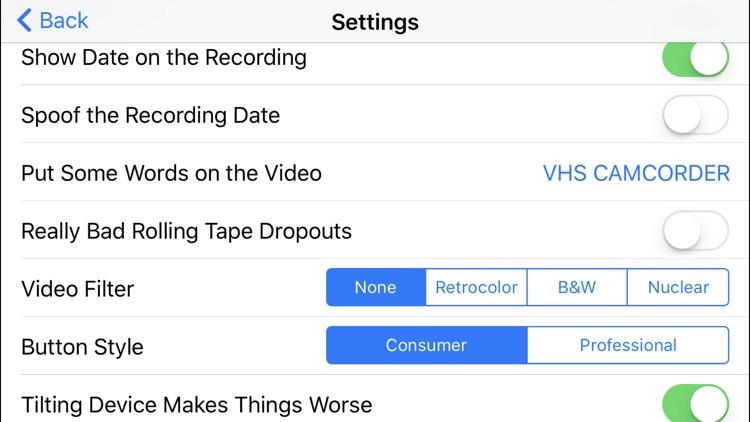 Rarevision VHS - Retro 80s Cam screenshot-3
