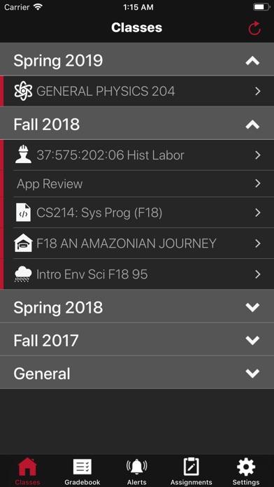 Rutgers Sakai Mobile app image