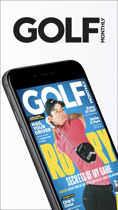 Golf Monthly Magazine screenshot one