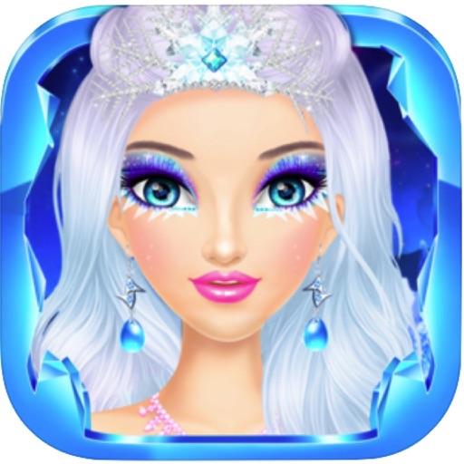 Ice Queen Makeover & Makeup