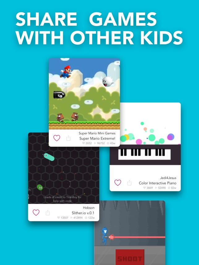 Hopscotch: Coding for kids Screenshot