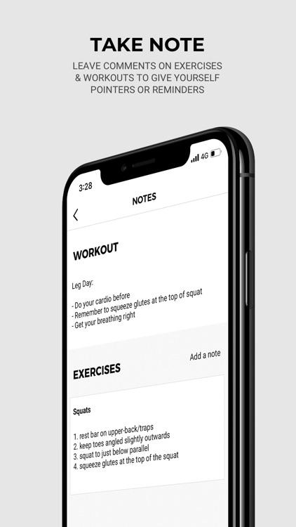 Gymshark | Gym Workout Planner screenshot-0