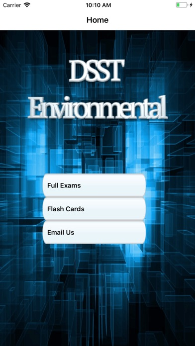DSST Environmental Science screenshot 1