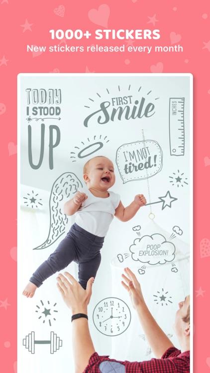 Totsie – Baby Photo Editor screenshot-4