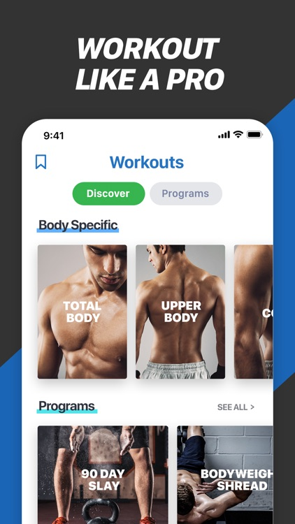 Fitness Buddy+ Train At Home screenshot-8