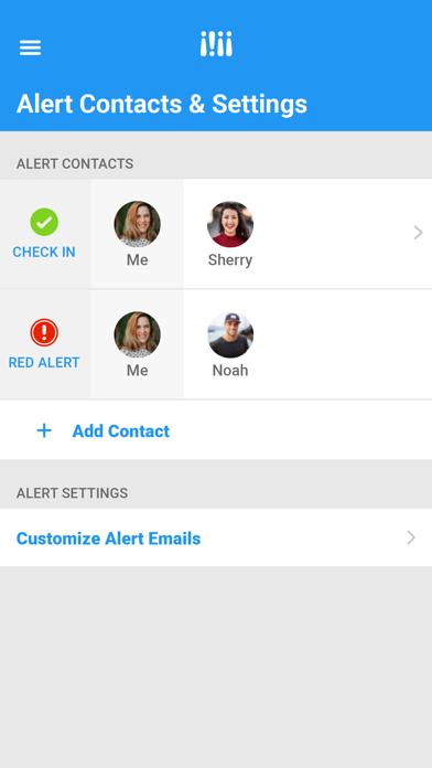 Wearsafe Personal Safety screenshot