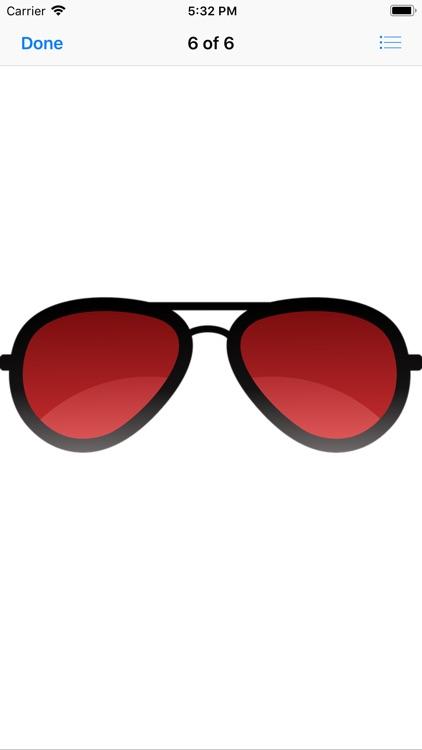 Eye Glass Stickers screenshot-7