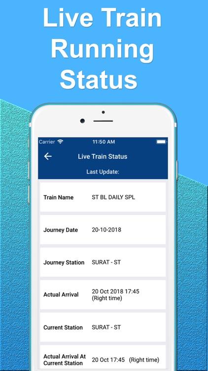 Indian Railway : Live Train screenshot-3