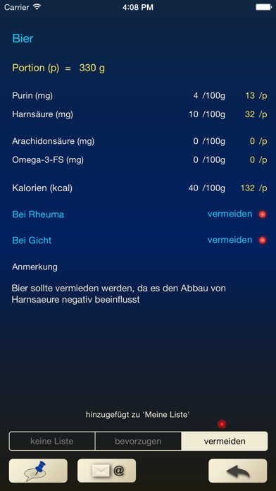 Screenshot for Purin-kcal-Rheuma in Germany App Store