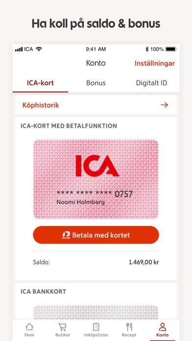 ICA – recept och erbjudanden på PC
