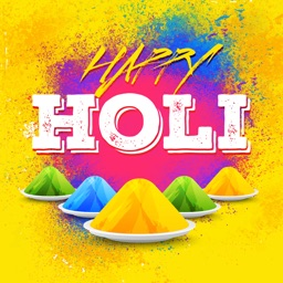 Holi Photo Frames