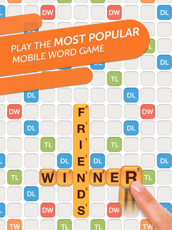 Words With Friends 2 Word Game на iPad