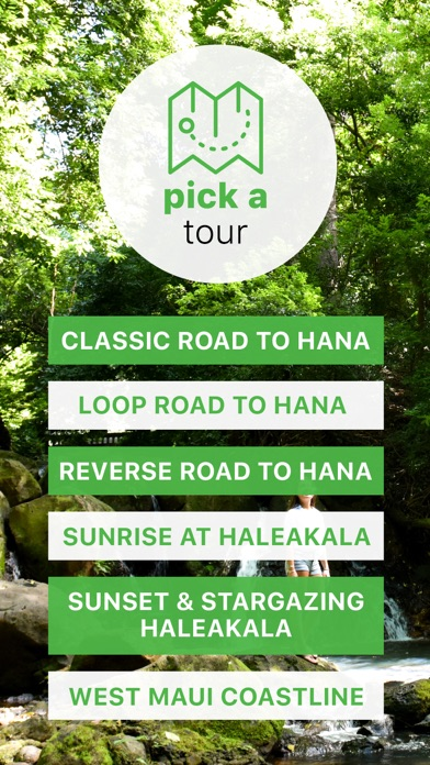 Maui Road to Hana Driving Tour Screenshot