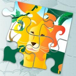 Animal Jigsaw Puzzle: Jungle