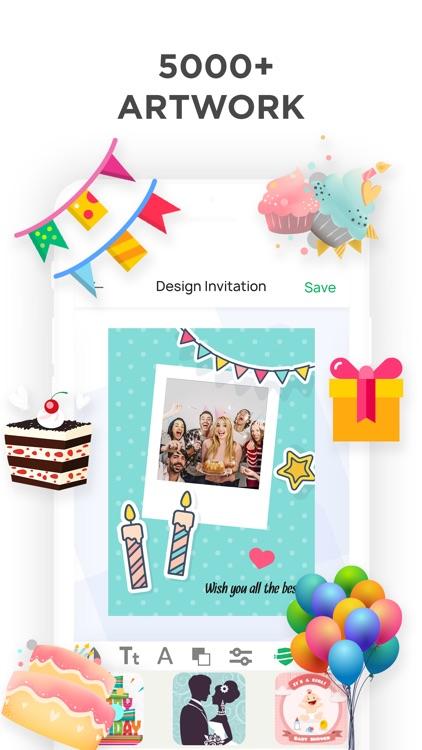 Invitation Maker- Invite Maker screenshot-4