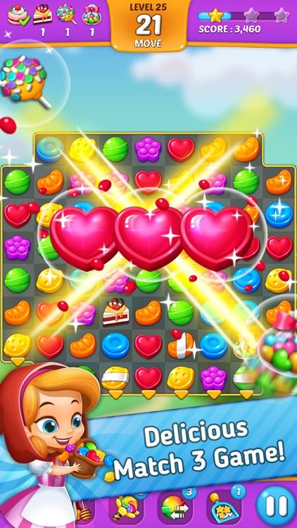 Lollipop: Sweet Taste Match3 screenshot-0