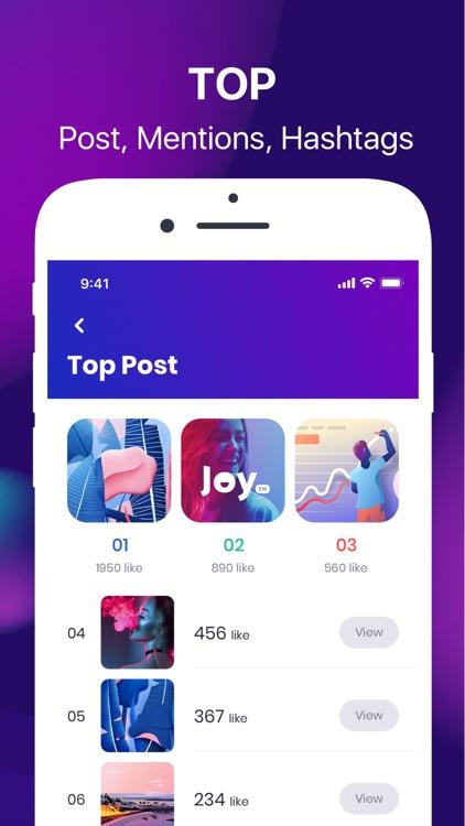 Followers+ Track for Instagram screenshot-4
