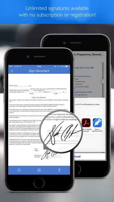 Sign Pdf Documents pro Screenshots