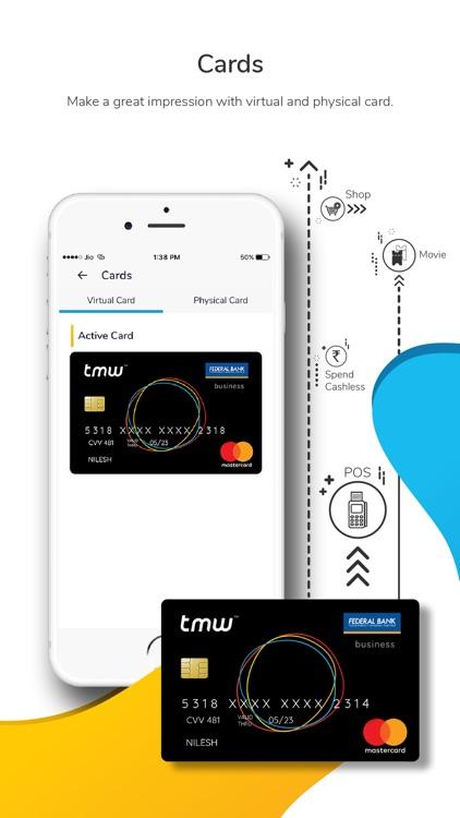 tmw - Wallet, Card, Recharge screenshot-3