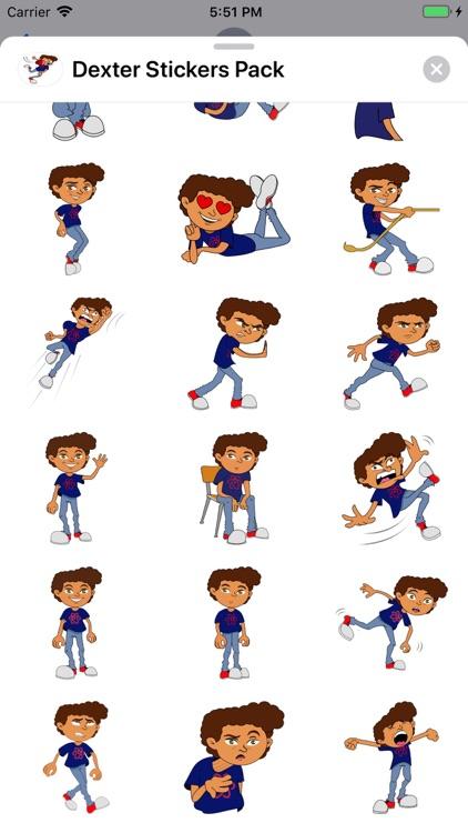 Dexter Stickers Pack screenshot-5