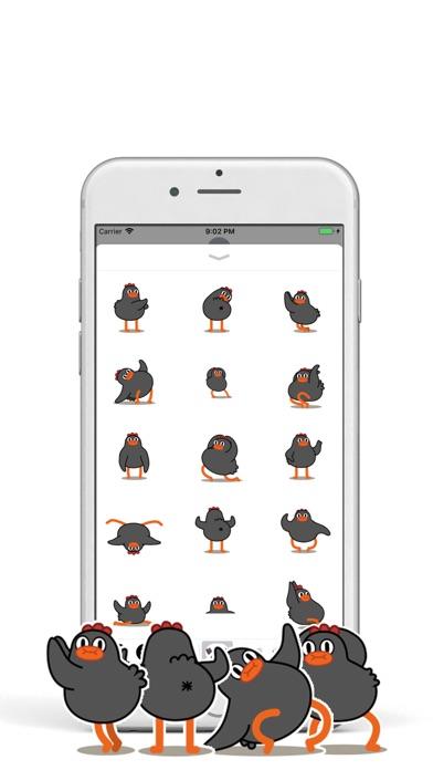 Dancing Chickmoji screenshot #1