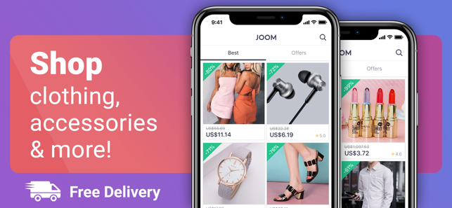 Joom. Fast and easy shopping on the App Store