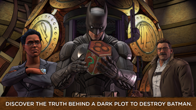 Screenshot from Batman: The Enemy Within