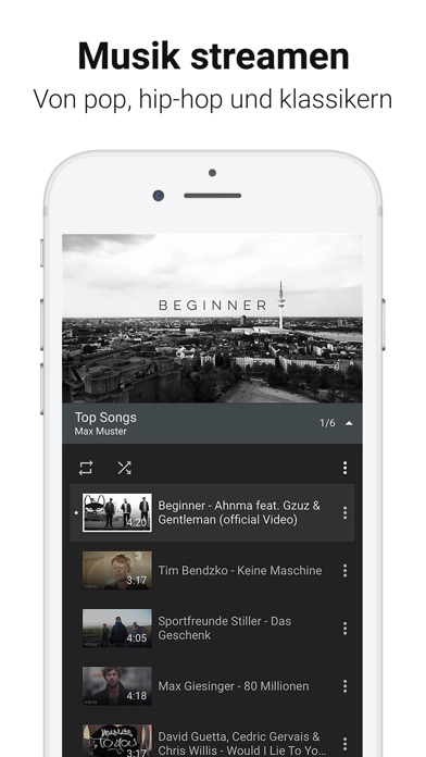 Screenshot for YouTube in Germany App Store