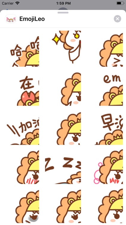 EmojiLeo Stickers