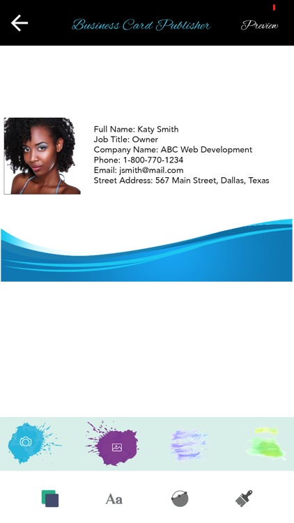 Business Card Publisher