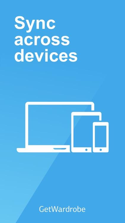 GetWardrobe - closet organizer screenshot-3