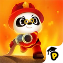 Ícone do app Bombeiros do Dr. Panda