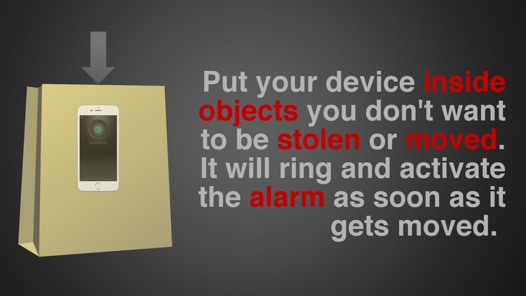 Motion Alarm Anti Theft Device