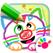 유아용 그리기! 색칠공부 학습 어린이 게임 아기 동물