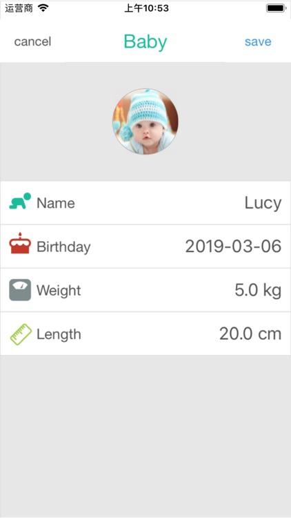 Baby tracker app - baby diary screenshot-8