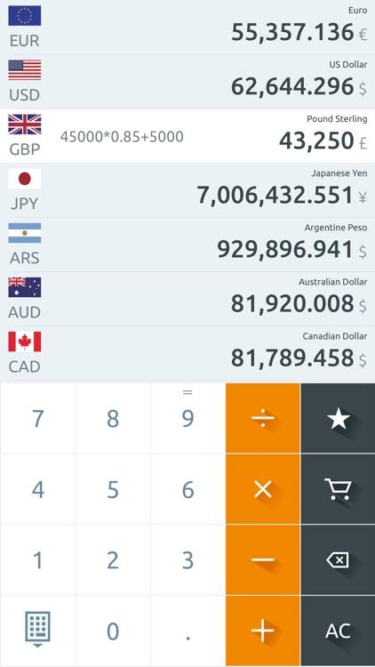 Currency converter !! screenshot-5