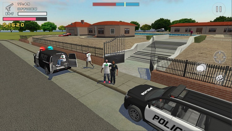 Police Cop Simulator. Gang War screenshot-4