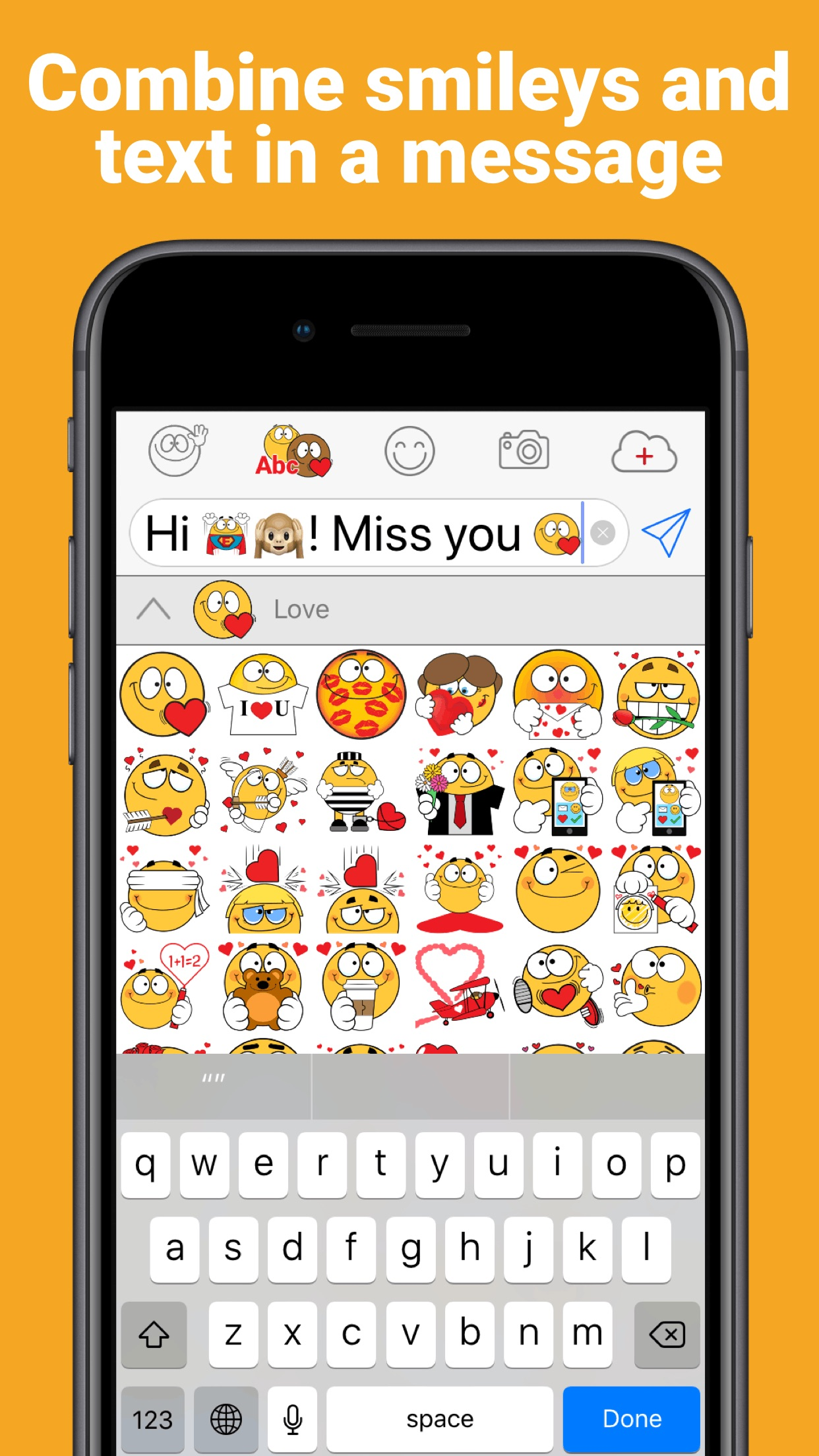 Emojidom Smileys and Emoticons Screenshot