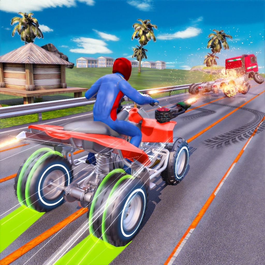 ATV Quad Bike Traffic Shooter hack