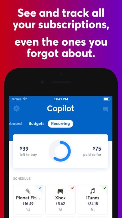 Copilot: The Smart Money App screenshot-3