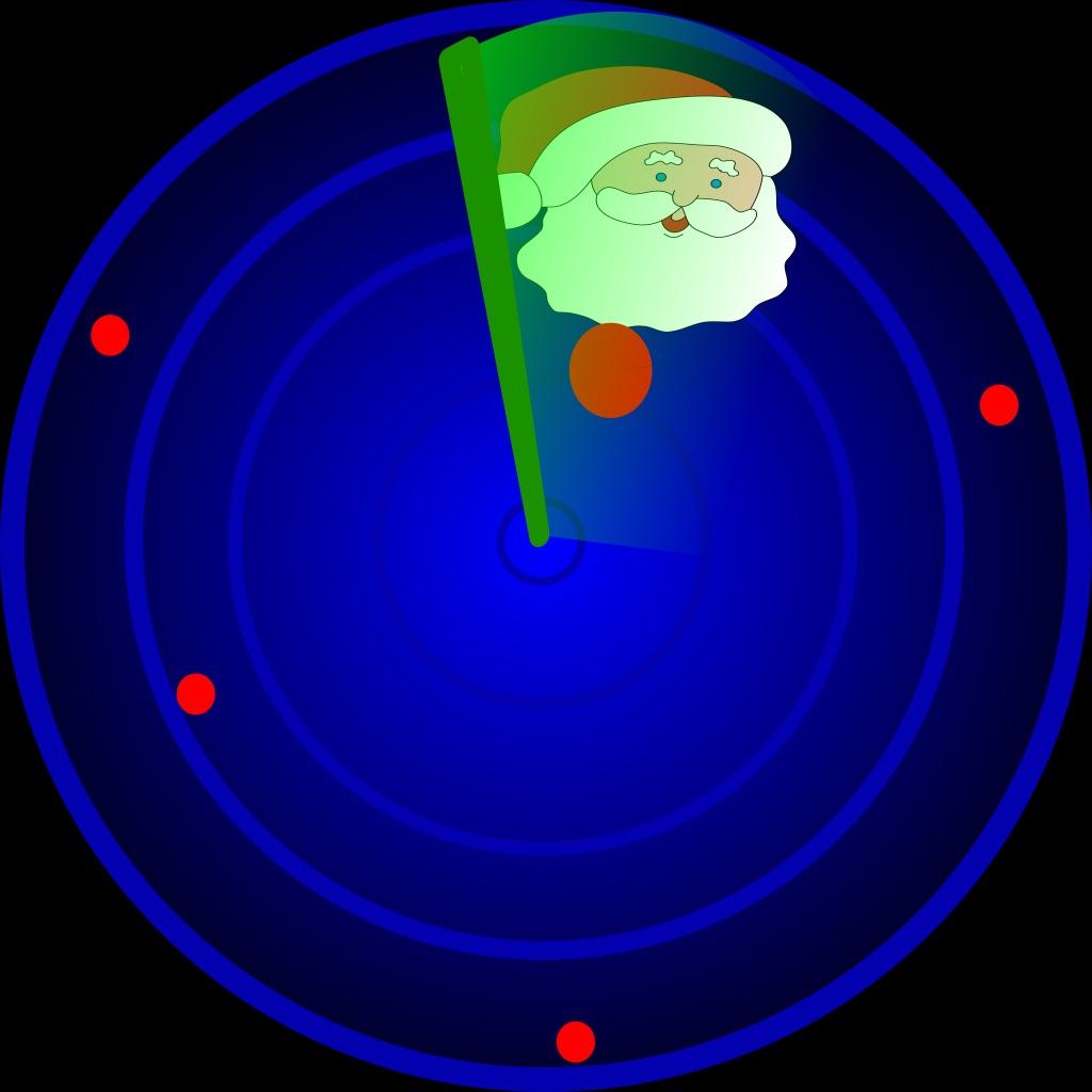 AR Magic Radar Santa Claus hack