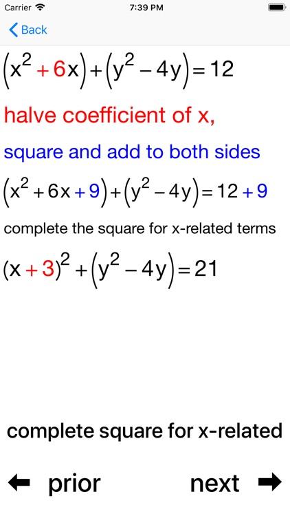Circles and Equations screenshot-3