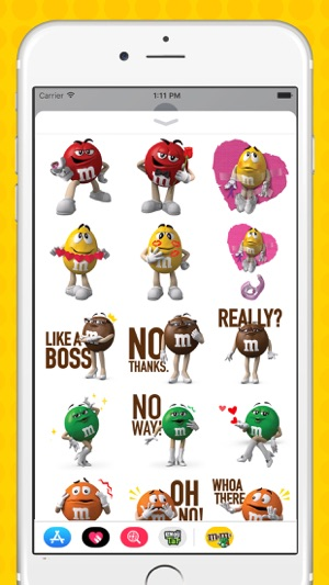 M&M'S Stickers on the App Store
