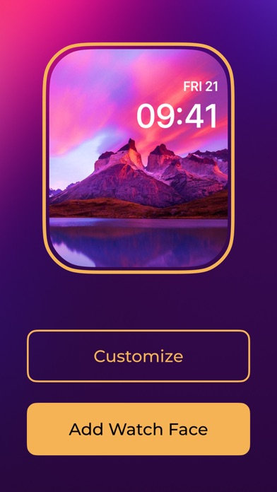 Watch Faces Gallery App Screenshot