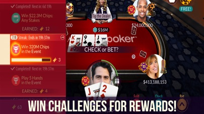 Screenshots for Zynga Poker - Texas Holdem