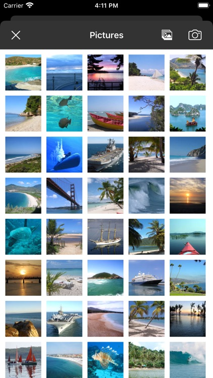 Picture Tile Slider At Sea screenshot-5
